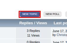 Click new topic