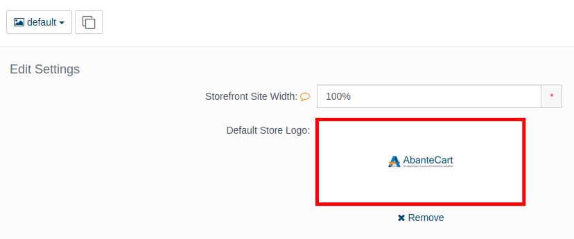 Replacing Your Default AbanteCart Logo
