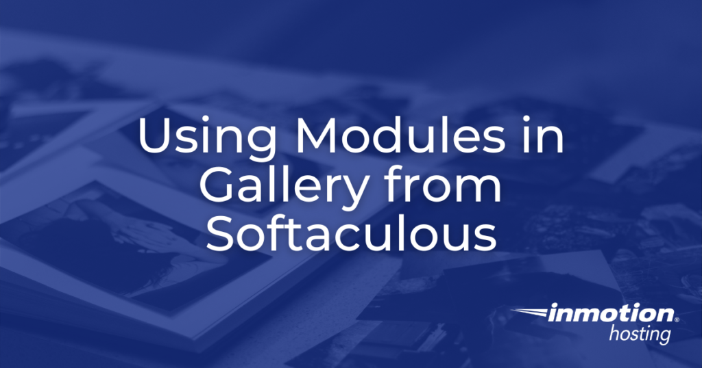 Using Modules in Gallery - header image