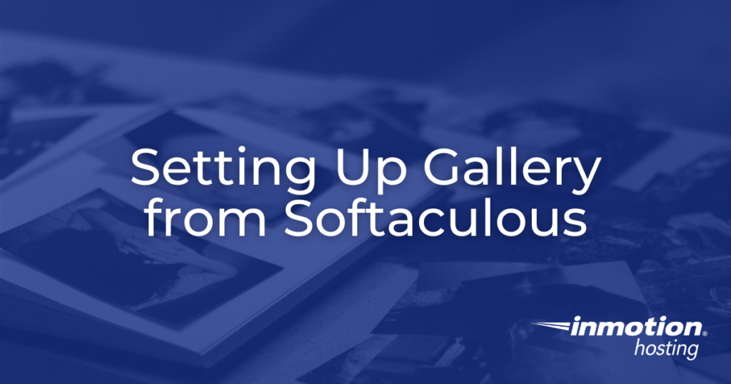 setting up gallery - header image