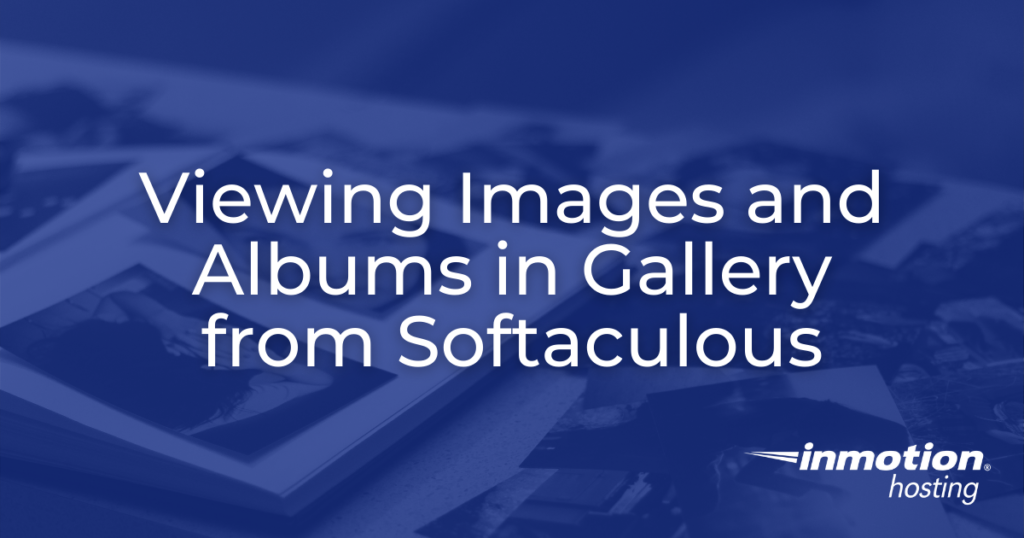 Header image for viewing images and albums