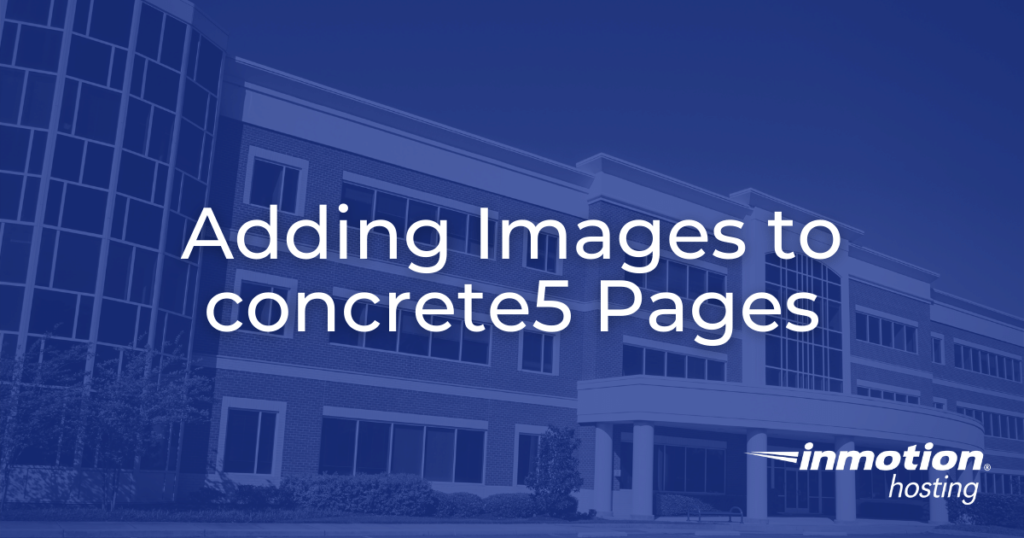 adding images to concrete5 pages hero image