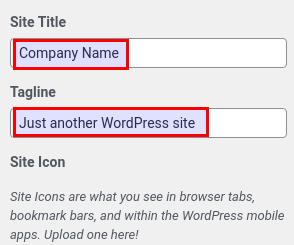 WordPress ChangeTitle Selection 003