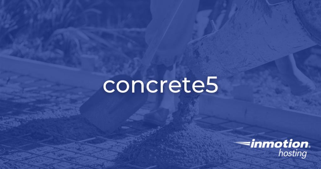 concrete5 pillar page hero image