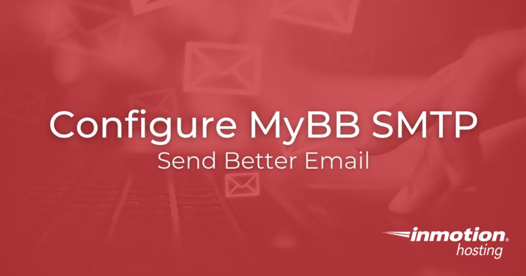 Configure MyBB SMTP title image