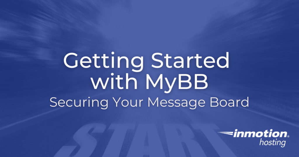 Getting Started with MyBB Title Image