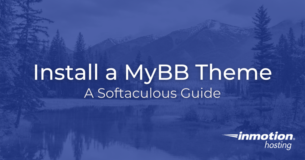 Install a MyBB Theme title image