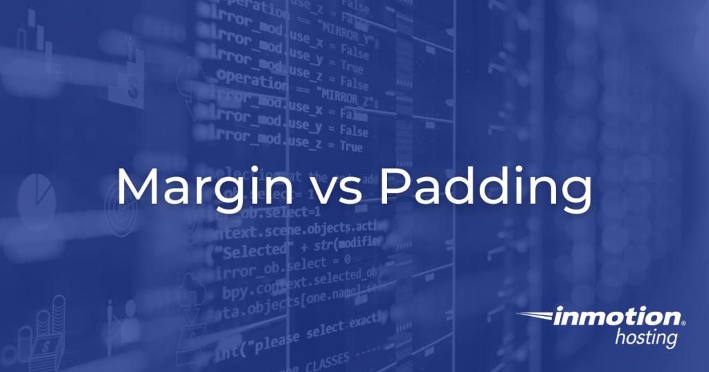 margin vs padding hero image