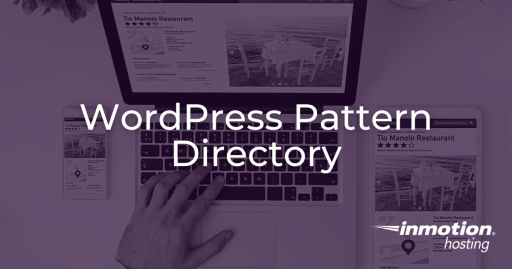 WordPress Pattern Directory