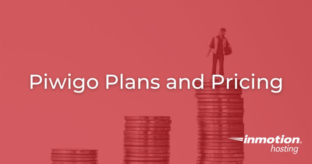Piwigo Plans and Pricing