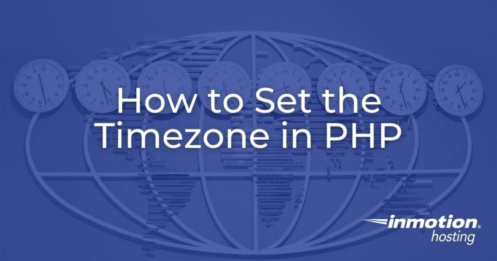 timezone header image