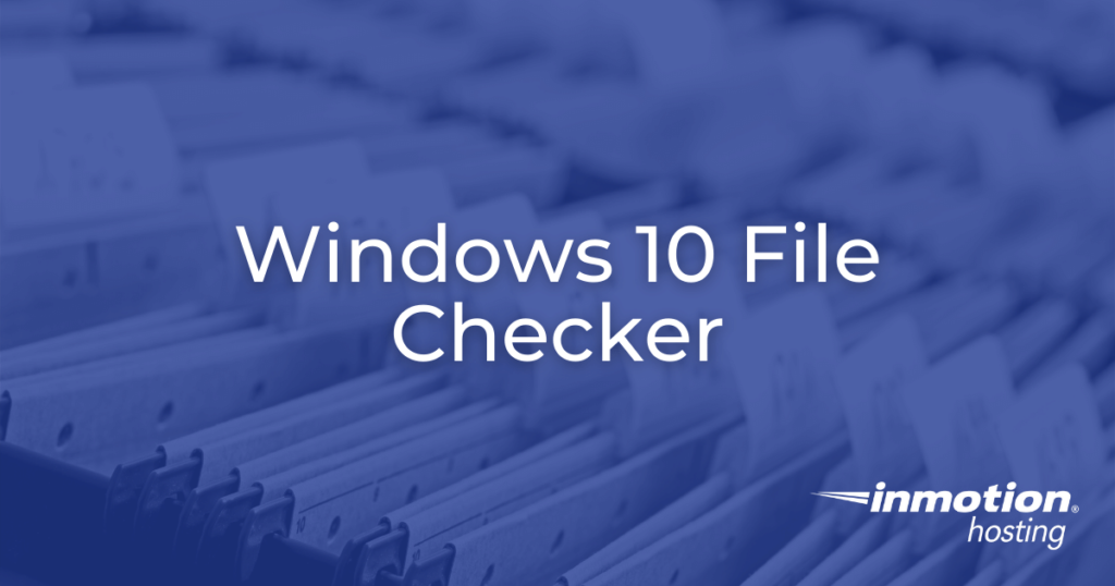 windows 10 file checker hero image