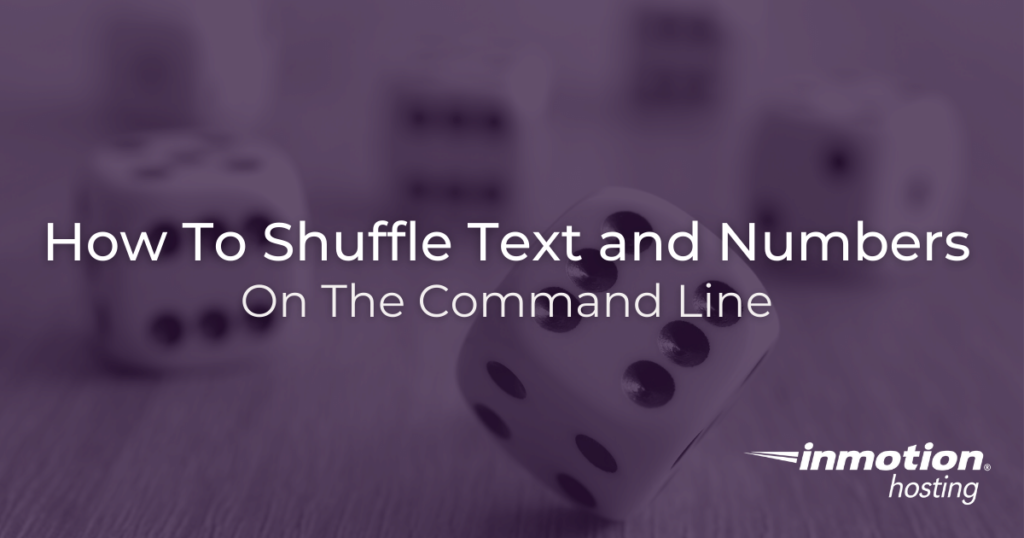 How to use Linux shuf command in Linux