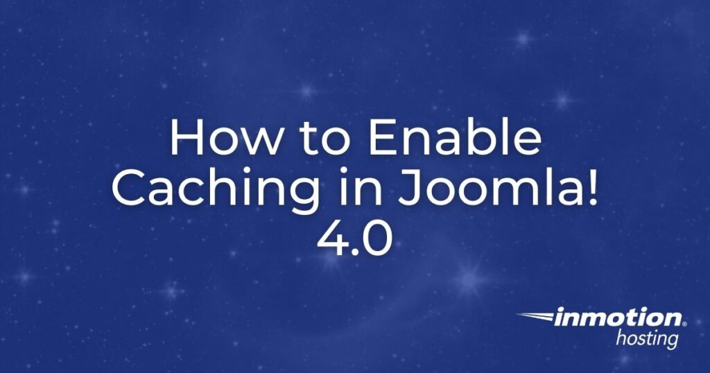 How to enable caching