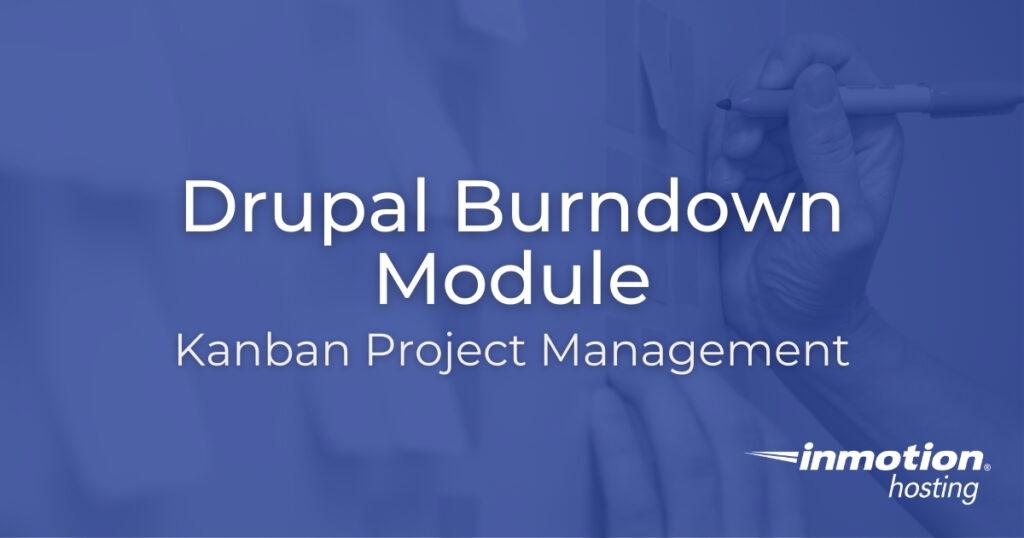 Drupal Burndown Module