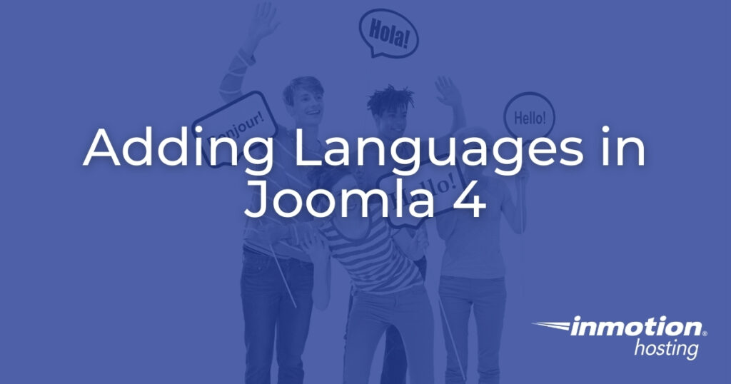 How to Add Languages in Joomla 4