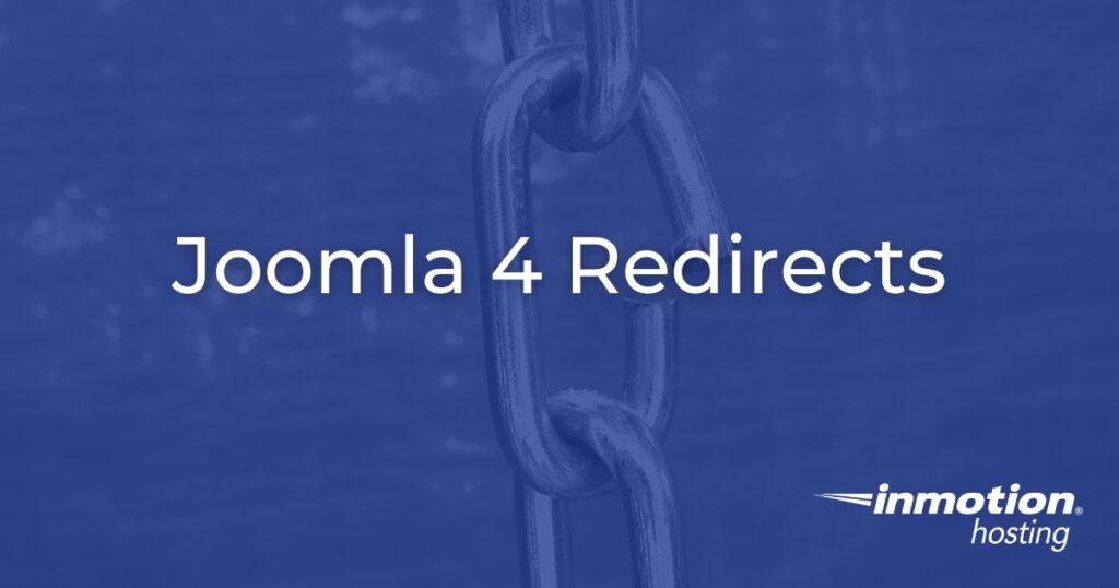 Joomla 4 Redirects