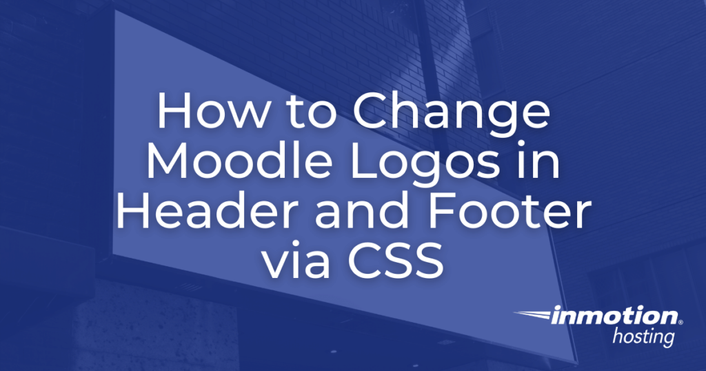 change moodle logos in header hero image