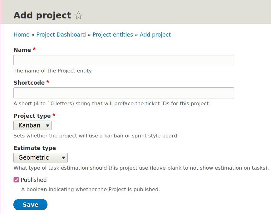 Drupal Burndown Project