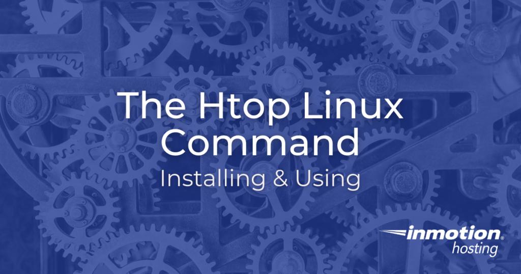 htop linux command title image