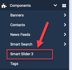 Joomla 4 smart slider components