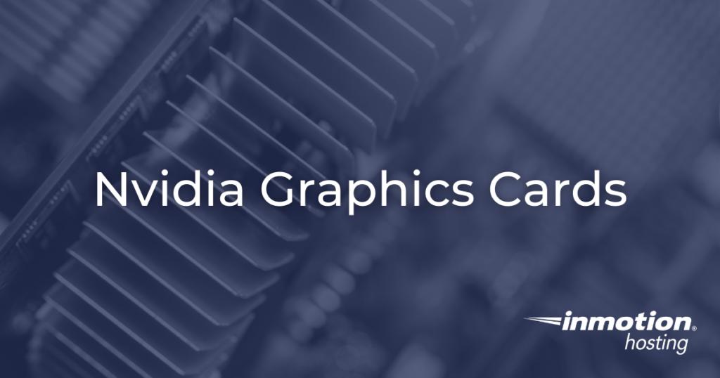 nvidia graphics cards hero image