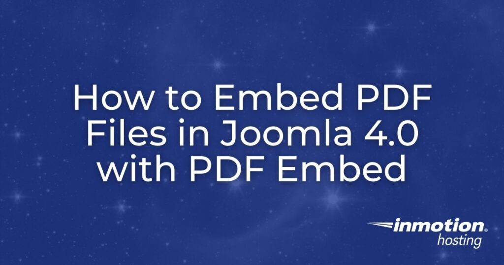 How to Embed PDF files