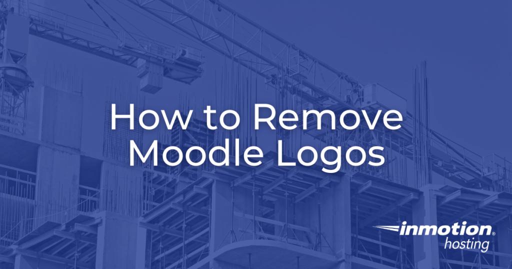 remove moodle logos hero image