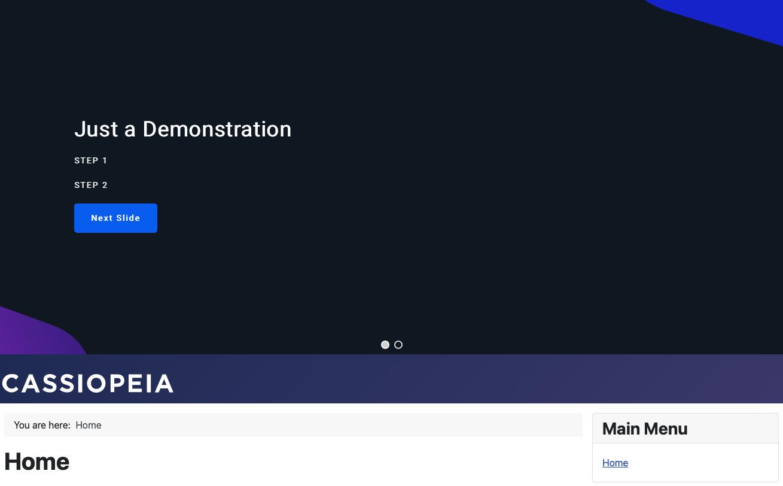 Joomla 4 Smart Slider Installed on Site