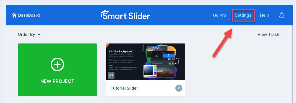 Joomla 4 Smart Slider Settings