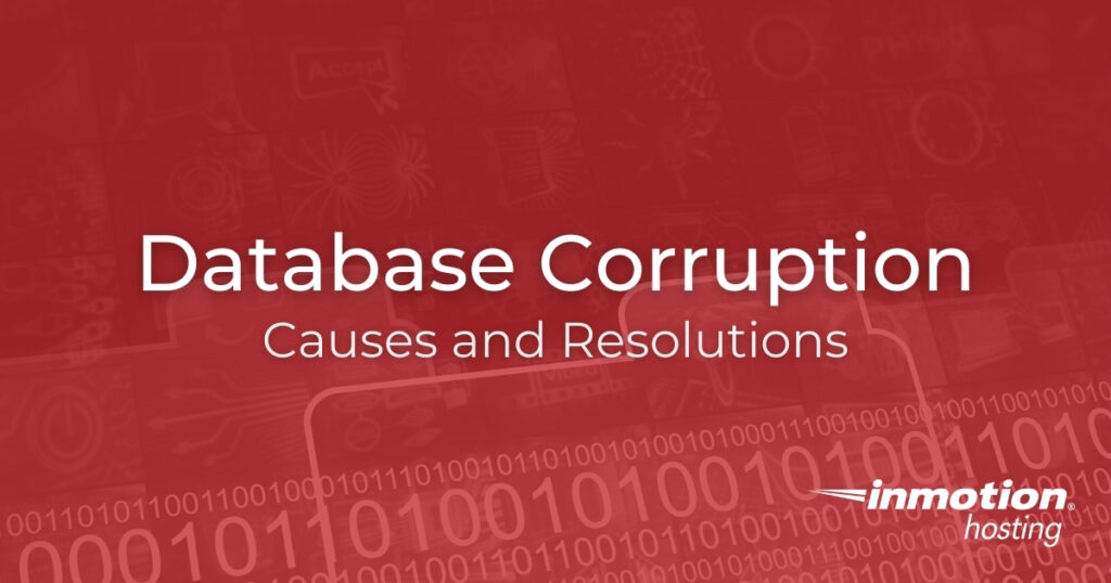 Database Corruption Causes and Resolutions