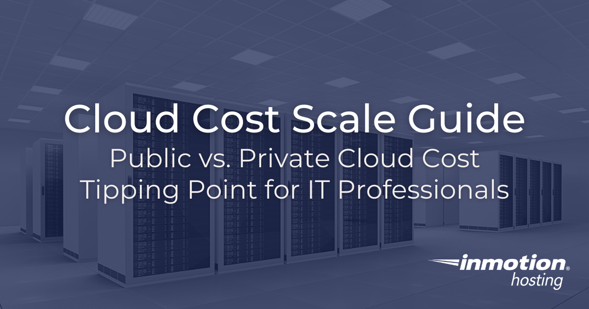 cloud cost tipping point