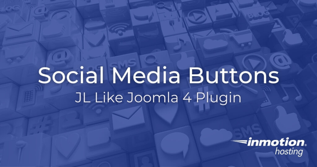 Social Media Buttons - JL Like Joomla 4 Plugin