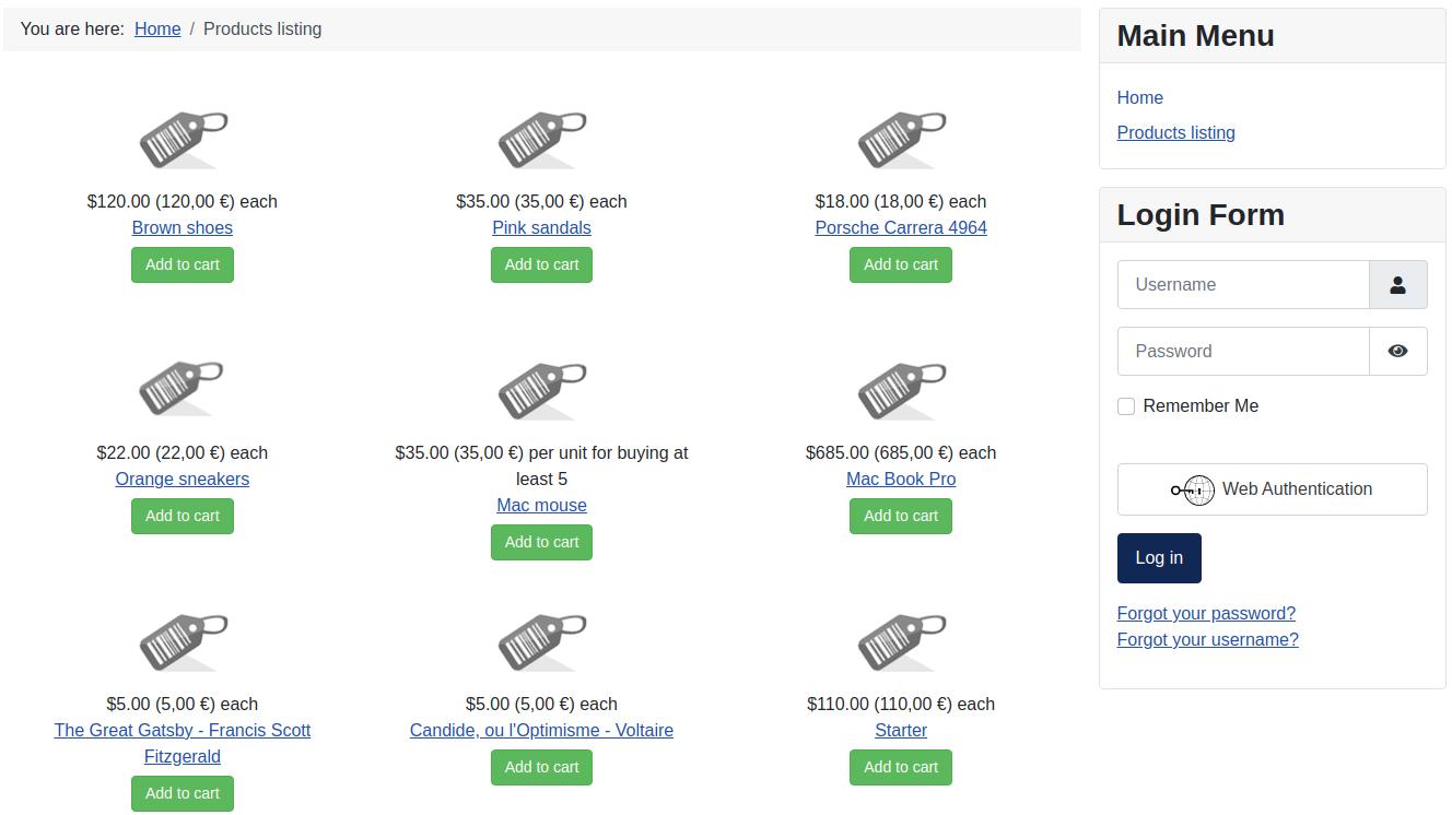 Joomla 4 Products Listing in HikaShop
