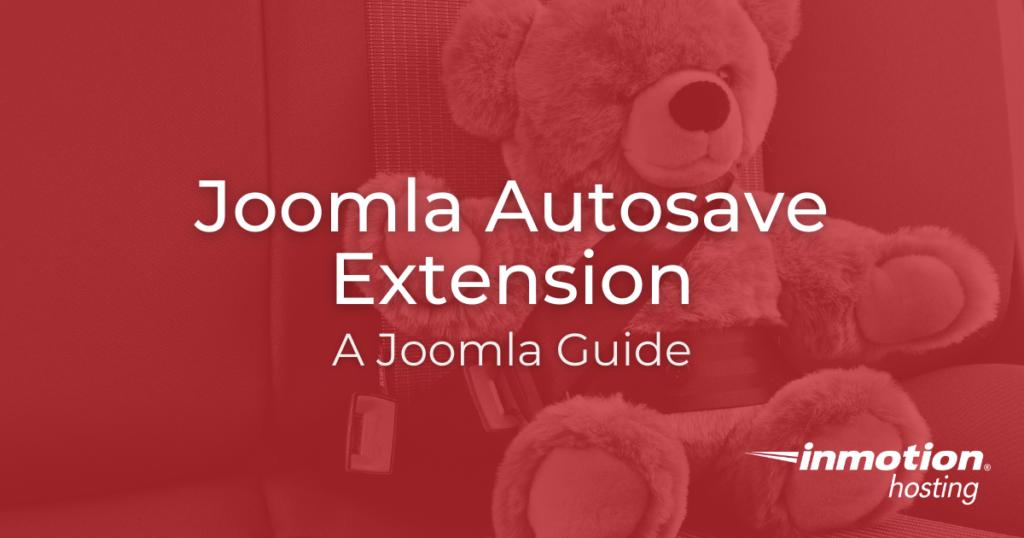 joomla autosave extension title image